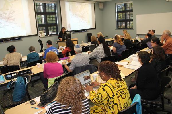 Echoes and Reflections Holocaust Education Training with Shani Lourie