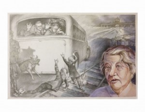 Hailey Shi - 16th Annaul Holocaust Art and Writing Contest Entry