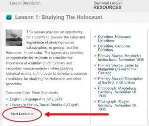 Holocaust Education Echoes and Reflections Lesson 1