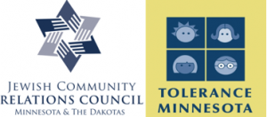 Logos from Tolerance Minnesota and JCRC