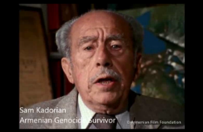 Survivor from the Armenian Genocide from USC Shoah Foundation 30 Days of Testimony to remember the Armenian Genocide