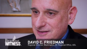 David Friedman from the Anti-Defamation League, a partner of Bearing Witness