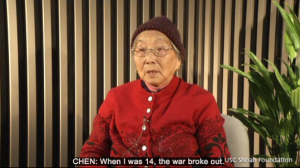 Survivor of the Nanjing Massacre from USC Shoah Foundation IWitness