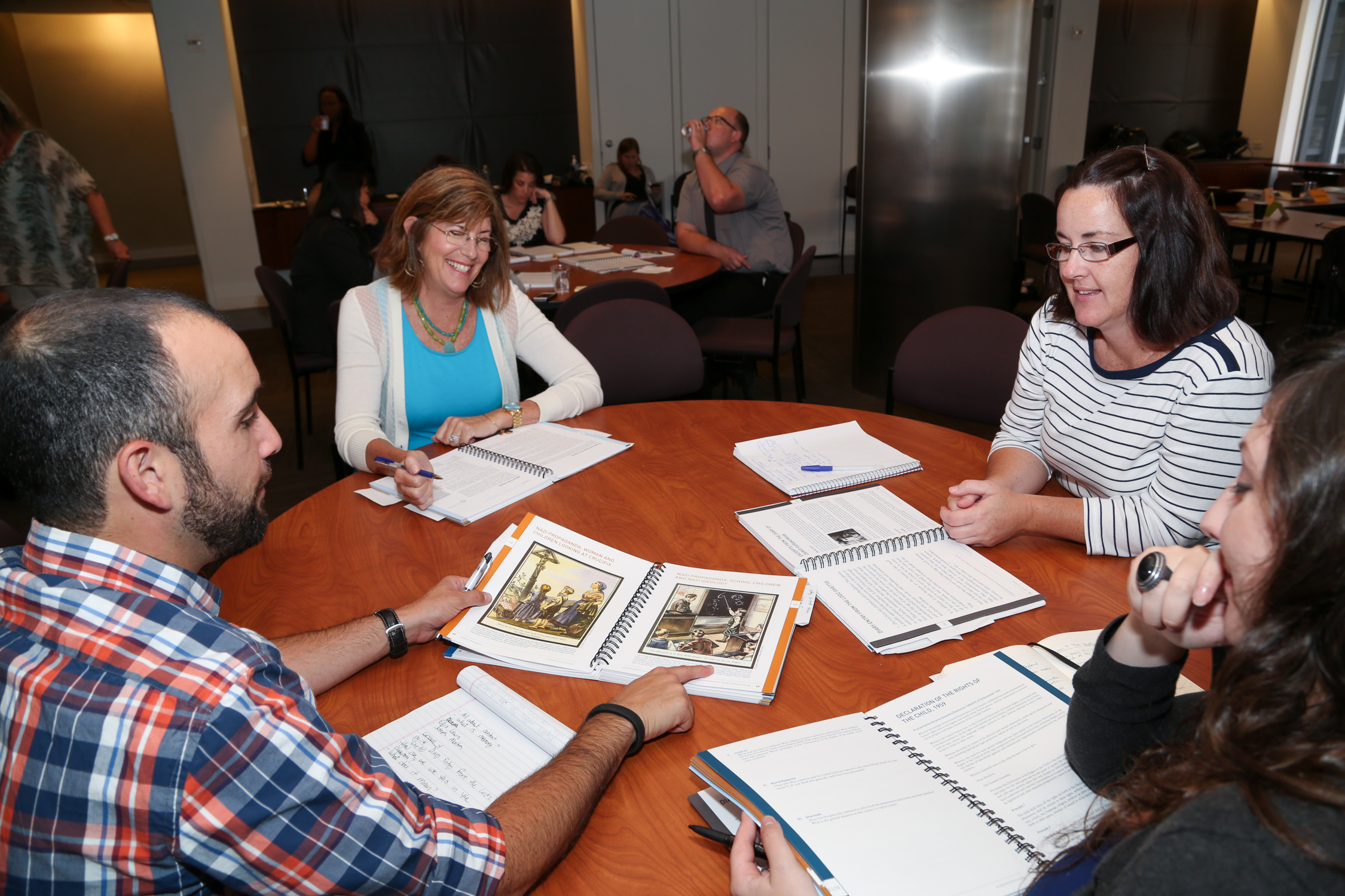 Educators at the 2014 Wolf Conference Discuss Holocaust Education