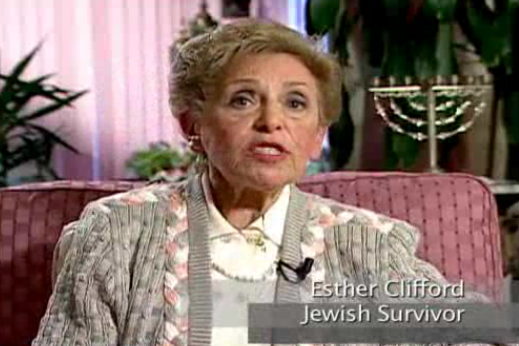 Esther Clifford Holocaust survivor testimony