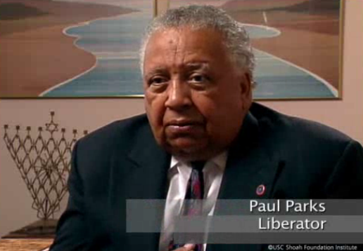 Paul Parks Holocaust liberator
