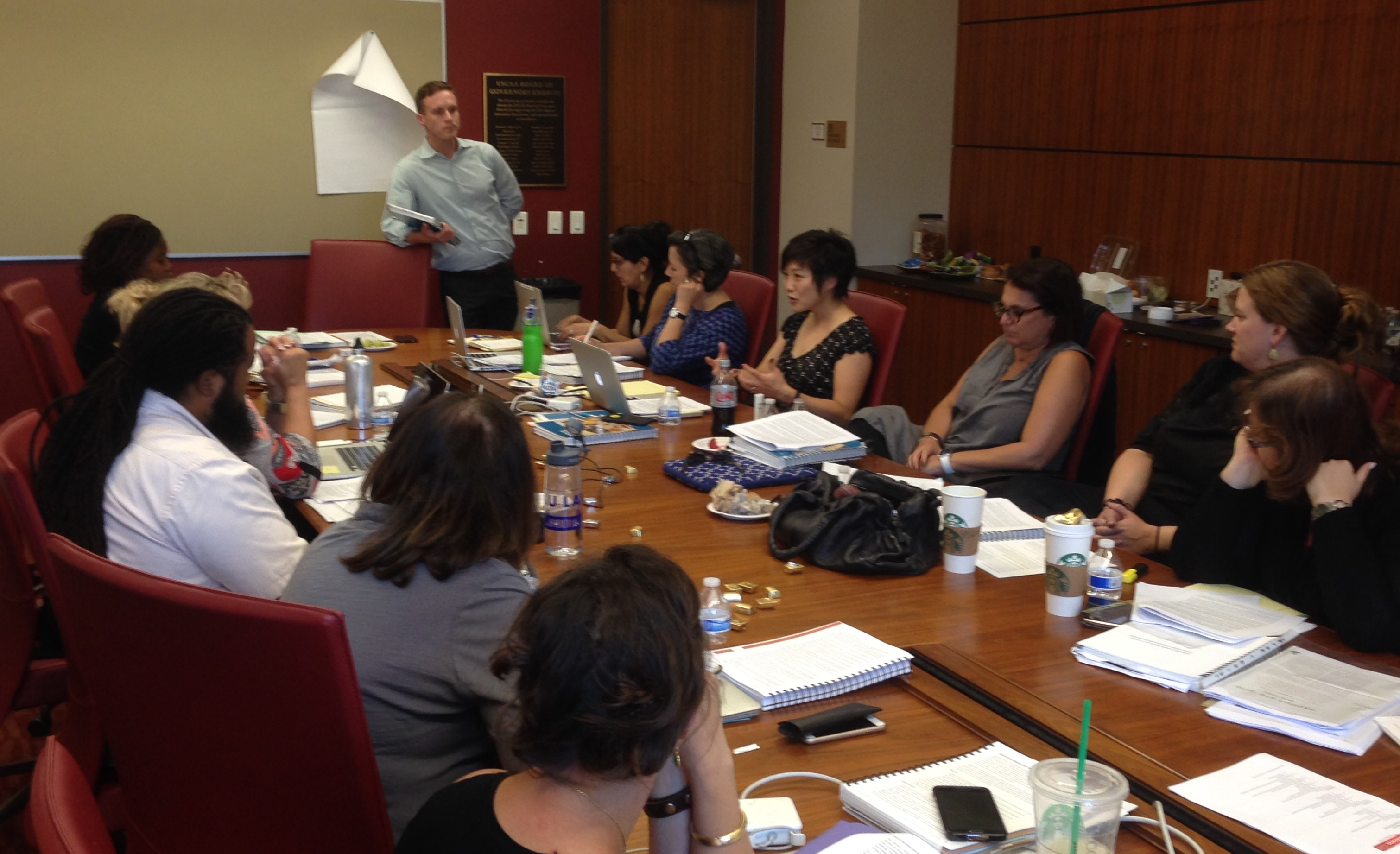 Holocaust Education trainers at USC Shoah Foundation for professional development seminar