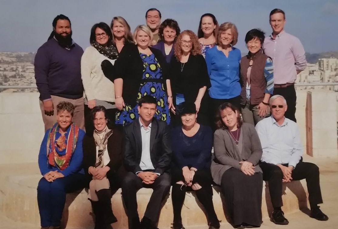 Echoes and Reflections facilitators at Yad Vashem December 2015