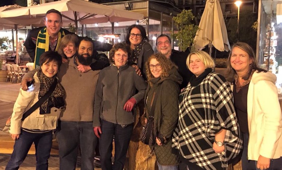 Echoes and Reflections facilitators in Jerusalem - December 2015