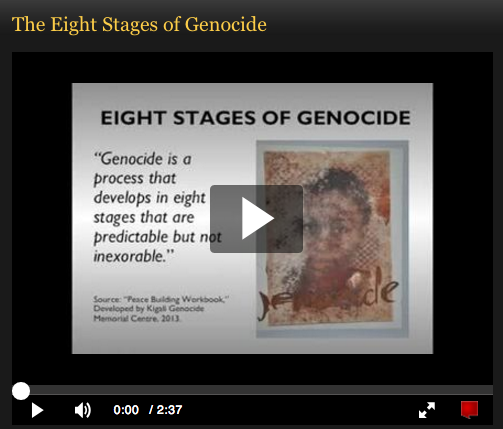 USC Shoah Foundation activities introduce students to the study of genocide and IWitness testimony.