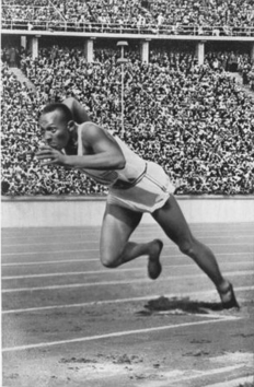 Jesse Owens 1936 Olympics four gold medals