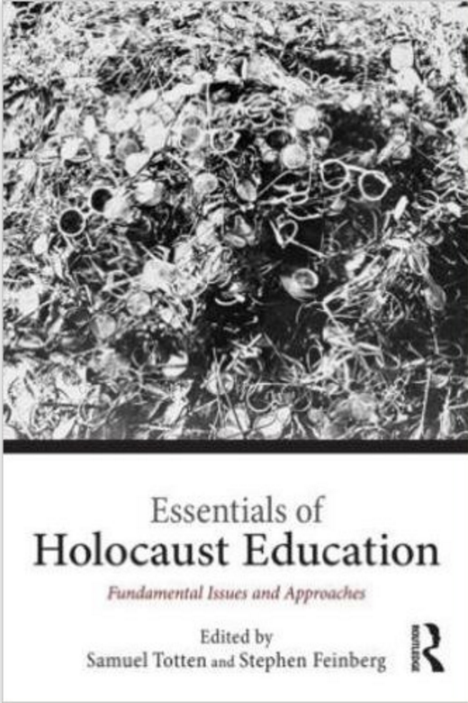 Book about Holocaust Education that Kim Klett co-wrote a chapter of about literature in Holocaust education