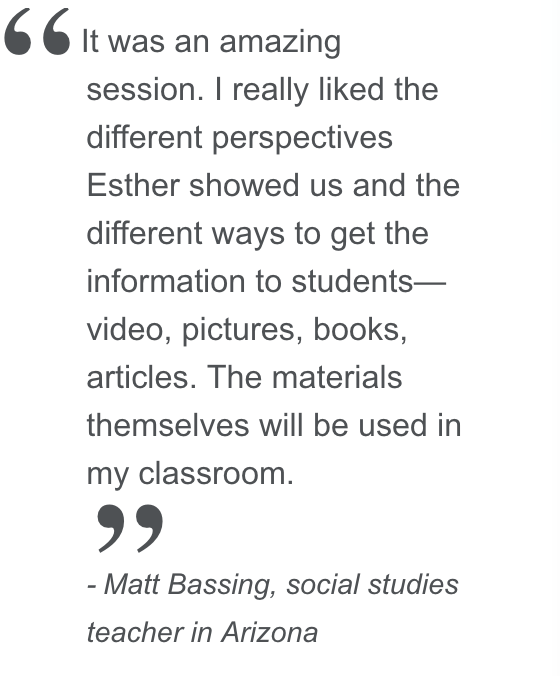 Matt Bassing social studies teacher in Arizona