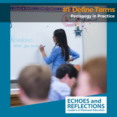 Pedagogy in practice - define terms